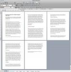 Microsoft Word document tool